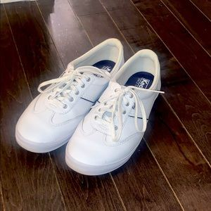 Keds Courty Leather White, Size 9 Women's Shoes